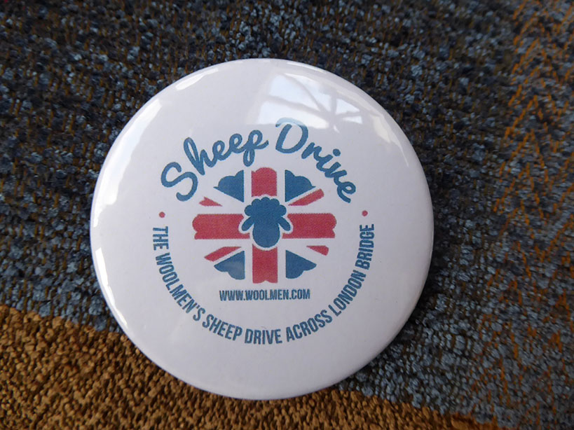 Sheep Drive Badge
